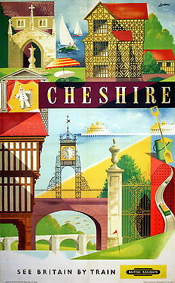 278 Vintage Railway Art  -  Cheshire