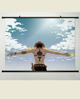 #026 Anime One Piece Marco HD Home Decor Poster Wall Scroll Collection 40*60CM