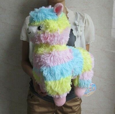 Japan Amuse Arpakasso Alpacasso Alpaca Plush Doll multicolour 14""