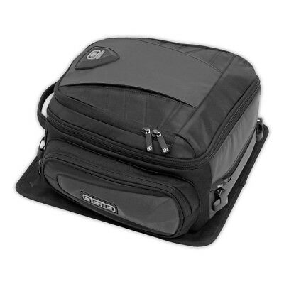 Ogio NEW Duffle Stealth Black Motorcycle Travel Touring Pack Adventure Tail Bag