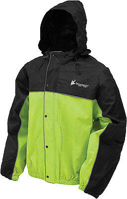 Frogg Toggs Road Toad Rain Jacket , Size: Md, Distinct Name: Green/Black, Gender