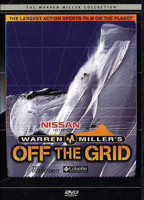 OFF THE GRID - Extreme Skiing DVD - Warren Miller