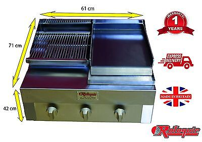 Char grill + bbq grill + charcoal grill + Contact grill + chargrill MADE IN UK!!