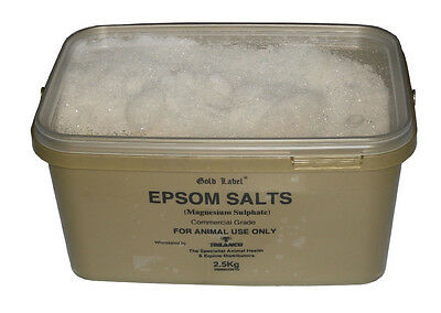 Epsom Salts x 2.5 Kg - Horse Care & First Aid