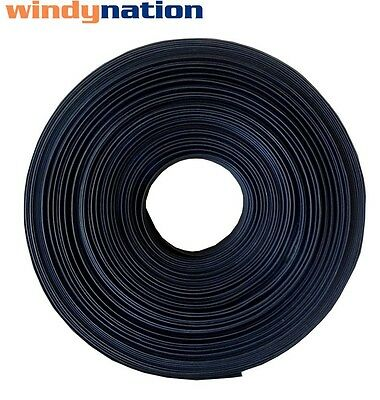 "25 FT 25' Feet BLACK 3/4"" 3/4 inch Polyolefin 2:1 Heat Shrink Tubing"