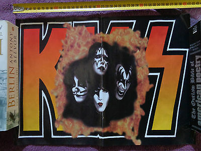 KISS_all fiery and stuff_MAGAZINE CLIPPINGS CUTTINGS_ships from AUS!_SH15