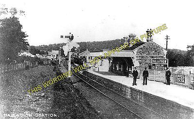 Hallatrow Railway Station Photo. Clutton - Midsomer Norton. Radstock Line. (5)
