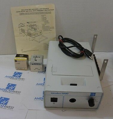 ALLEN BRADLEY 2801N12 2801 N11 Halogen Light Source  Intralux 5000 ~ NeW iN BoX!
