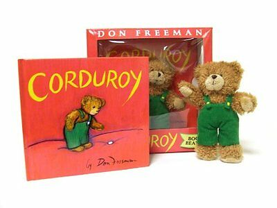 Corduroy Book and Bear by Don Freeman (Hardcover)