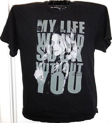 Kelly Clarkson My Life Would Suck Without You concert t-shirt '08