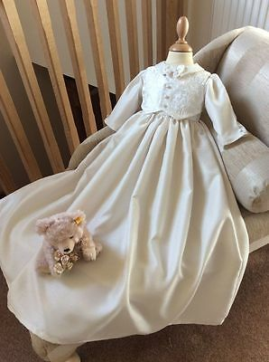 Boys Christening Baptism Gown Outfit Dedication Naming Suit Dress Clothes Hat