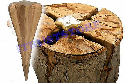 Sharp Point Wedge Log Splitting Tool For Firewood Wood Chopper Splitter