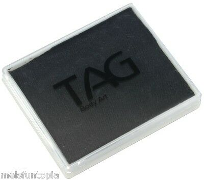 TAG Body Art 50g Pot Regular Black Professional Face and Body Paint - Make up