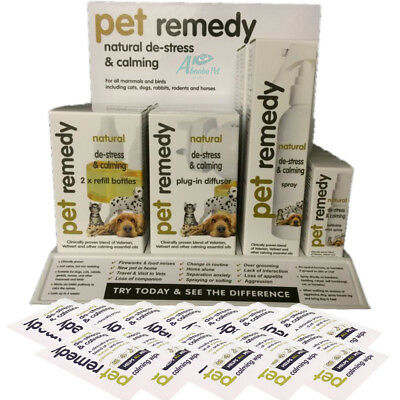 Pet Remedy Natural Effective Calming Solutions Cat Dog Stress Relief Fireworks
