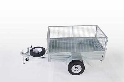 Special!! 7*4 Galvanized Cage Trailer Heavy Duty $1550 Drive-Away