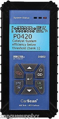 Innova CarScan Scan Tool OBDII Import, Domestic and European Vehicle Scanner