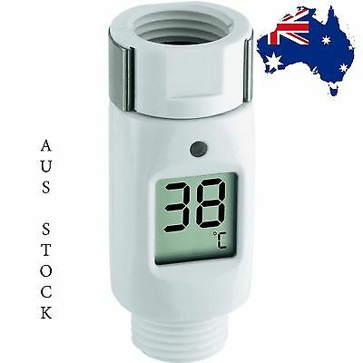Digital LED Water Thermometer Display Detector Waterproof Shower Monitor CE