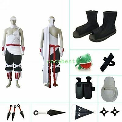 Killer Bee KillerB cosplay costume set from Naruto any size Top pants Accessory