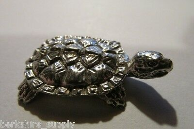 Pewter Turtle Tortoise Figurine Made IN USA