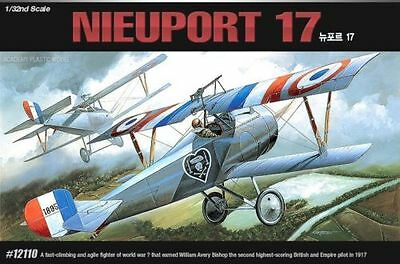 Academy 1/32 Scale Plastic Model Kit NIEUPORT 17 12110 NIB World War I