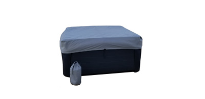 "8'x8' with 12"" elastisized skirt Cover Cap for your Hot Tub Cover"