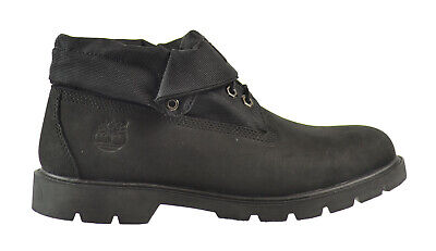 Timberland Basic Roll Top Men's Boots Black 6635a