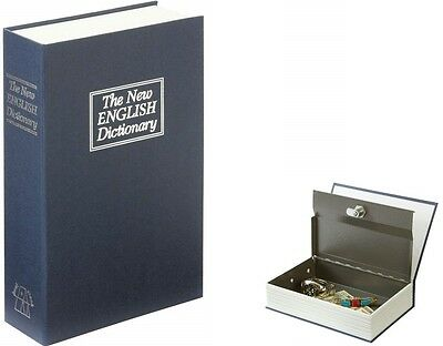 Dictionary Hidden Diversion Stash Safe With Locking Metal Compartment GFSAFED1