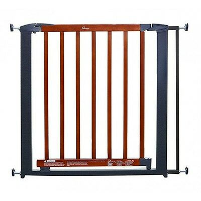New Dreambaby Savannah Metal & Wooden Security Baby Pet Safety Gate Wood Dream