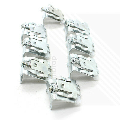 Arian Stainless Steel Kitchen Sink Fixing Clamp Clips   Pack of 8   BRAND NEW