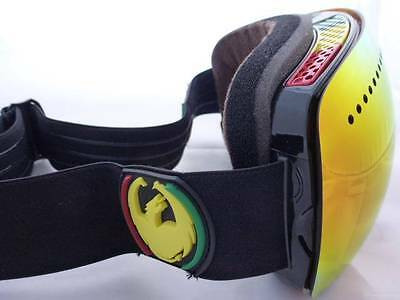 Dragon APXS Frameless Snow Goggles Rasta - Red Ionized +Yellow Blue Ion