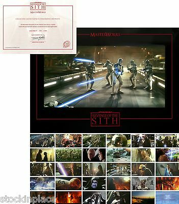 STAR WARS Limited Edition LITHOGRAPHIC ART PRINTS * Buy 2 get 2 FREE! *