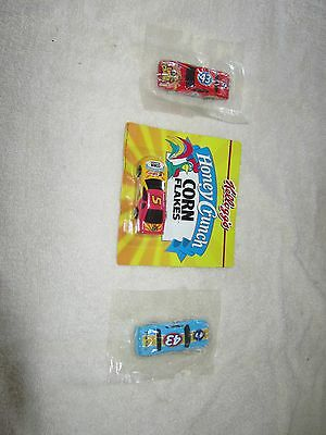 PETTY #43 HOT WHEEL NASCARS LUCKY CHARMS + Kellogg's #5  1996