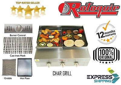 Commercial Gas Grill  Charcoal Grill Griddle & Hot Plate Chargrill Bbq Grill Lpg