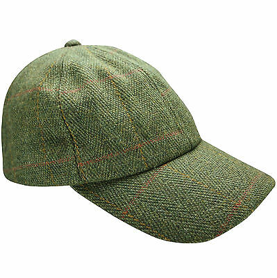 c6608ee74b8 New Tweed Baseball Cap Country Wool Shooting Fishing Hat Teflon Coated  Unisex