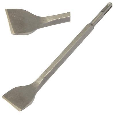Ceramic Tile Removing Remover Chisel SDS+ Cranked Angled Bent to Remove Tiling