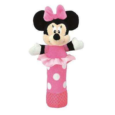 NEW Disney Minnie Mouse Baby Hand Stick Rattle