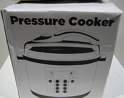 900W 6L Electric Pressure Cooker