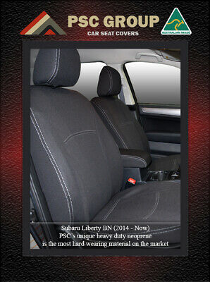 Seat Cover Fits Subaru Liberty Front(FB + MP) & Rear Waterproof Premium Neoprene