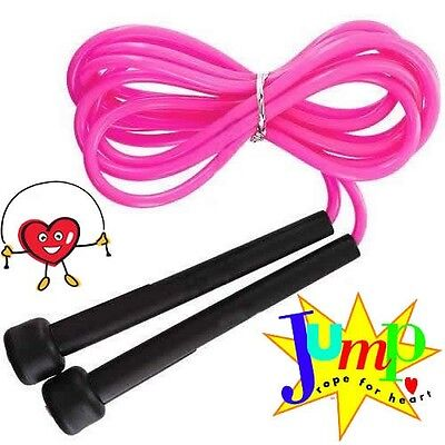 SPEED ROPE BOXING SKIPPING JUMP CARDIO MMA SPORT WARM UP 3 Meter PINK