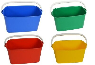 Window Cleaners Bucket 9 litre oblong Window Cleaning clean Washer Equipment x 1