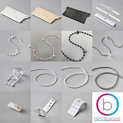 Vertical Blind Spare Parts - 89mm & 127mm - Weights, Chains, Brackets, Hangers!
