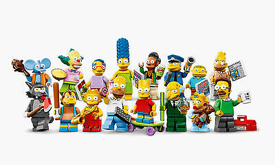 Simpsons Lego Minifigures - Brand New Assembled with Packet & Leaflet