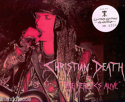 LP - Christian Death - The Heretics Alive (Deathrock) LIM.EDIT NUMBERED:Nº: 9304