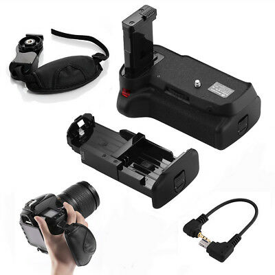 Vertical Battery Grip for Nikon D3200 D3100 D3300 D5300 DSLR Camera+ Strap
