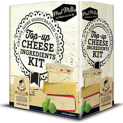 Mad Millie Make Your Own Cheese Top Up Ingredients Kit