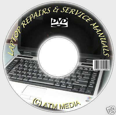 Notebook/Laptop/Netbook Repair/Service/Tech Guides/Manuals Dvd New