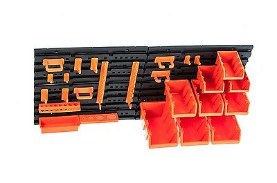 Prosperplast Stackable Box Screw Box Tool Holders Tool Bar Tool Wall