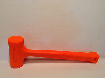 Dead Blow Hammer Neon Orange