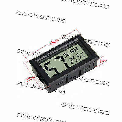 TERMOMETRO IGROMETRO hygrometer thermometer DIGITAL LCD Pcket Embedded HUMIDITY
