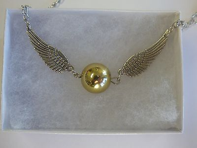 Harry Potter Golden Snitch Bracelet Double Wings - US SELLER FAST FREE SHIPPING